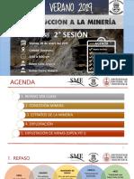 Introducción a la minería FIGMM - UNI