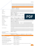New Format Application Form CLR
