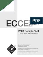 02 ECCE2009SampleTest
