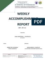 Weekly Accomplishment Report[1]