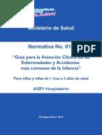 Normativa 017 - AIEPI Hospitalario Tercera Edicion 2018 Final