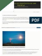 Www Cobianmedia Com 2015-03-04 Ejemplos de Propositos de Una