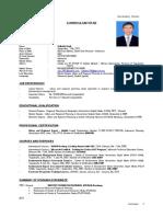 CV Zulfadly English