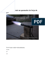 Cómo Construir Un Quemador de Forja de Gas Propano