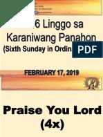 February 17 2019 Foc