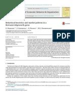 Behavioral heuristics and market patterns in aBertrand–Edgeworth game