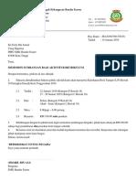Contoh surat sumbangan PIBG