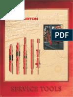 Halliburton Packer Service Tools Catalog