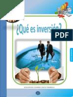 ¿Qué es Inversión?