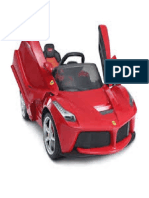 Rastar Carro Ferrari