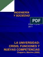 La Universidad Crisis Funciones y Nuevas Competencias