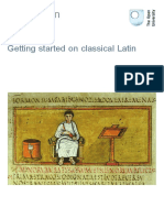 Getting Started on Classical Latin Printable