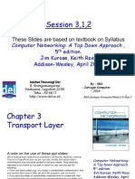 Chapter3 Transport Layer