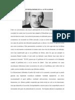 El Keynesianismo en La Actualidad
