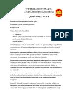 Informe 6 de Organica Nicole Orellana