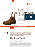 The Bootstrapper's Bible