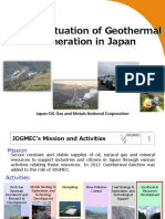 actividad geothermal japon