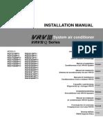 Daikin VRV III (Q Series) Installation Manual