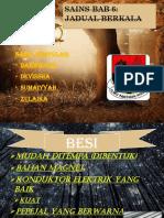 Sains Bab 6 Jadual Berkala