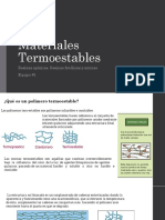 Materiales Termoestables