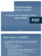 ALL YOU EVER NEED TO KNOW ABOUT REMICS - SECURITIES TRUSTS