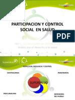 Participacion y Control Social en Salud