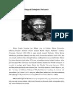 Biografi Soerjono Soekanto