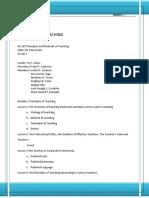 154229478 Module 1 Principle of Teaching