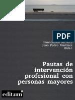Pautas de intervención profesional