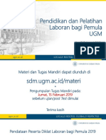 Topik 2 - Administrasi Laboratorium - Nurul Hidayat