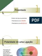 Química PPT - CASD - Moleculas - Polaridade