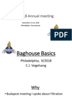 Baghouse Basics Chuck Vogelsang