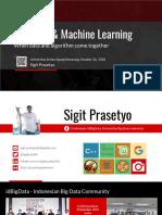 3. Sigit Prasetyo - Meetup-20-Big Data and Machine Learning - 1.2