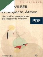 El Proyecto Atman - Ken Wilber