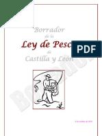 Borrador Ley Pesca CyL