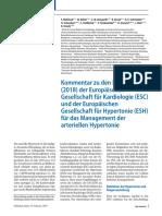 Guia Alemana Para El Control de Hipertension