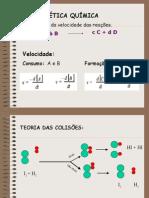 Química PPT - Cinética Química
