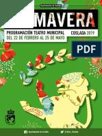 CULTURA | Programación Teatro Municipal #Coslada en 'PRIMAVERA' 2019