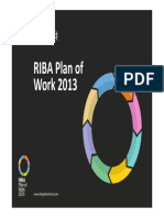RIBA Plan of Work 2013 - Presentation