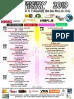 Rosebery Festival 2019 Program