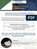 Travaux LGV - Tours Bordeaux