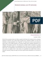 Evocación de Duruelo, Fundación Teresiana, En El 450 Aniversario – Teresa, De La Rueca a La Pluma