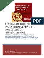 Formatacao Docs Institucionais