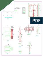 Cerco Perimetrico Reservorio Elevado - Arquitectura DETALLES