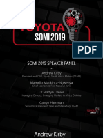 State of the Motoring Industry (SOMI) 2019