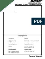 Bose 301 Service Manual