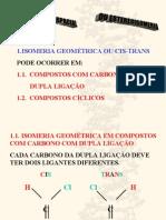Química PPT - Isomeria Geométrica
