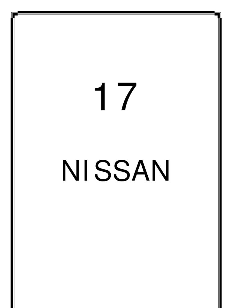 Nissan Manual | Car Body Styles | Transport
