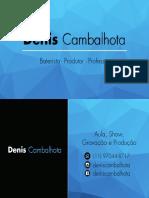 Cartão - Denis Cambalhota