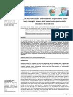 Correa Acuteneuromuscularandmetabolicresponsestoupperbody